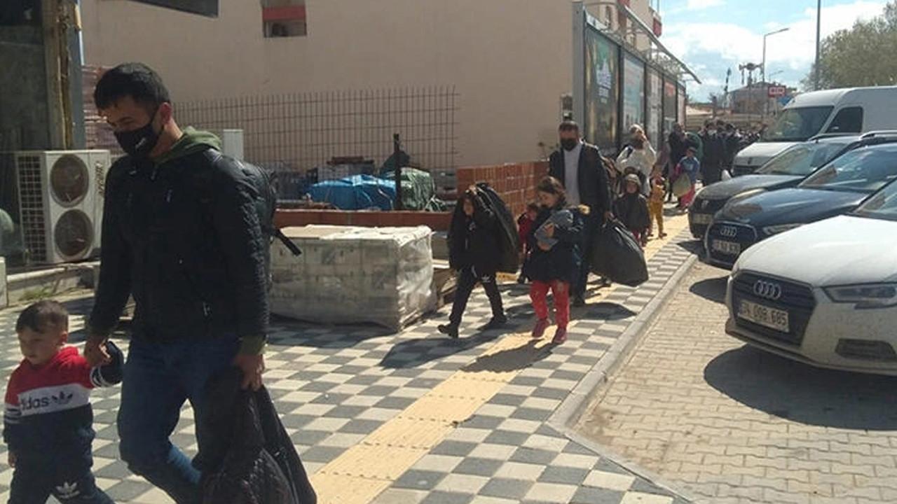 Durdurulan otobüste 47 kaçak göçmen yakalandı