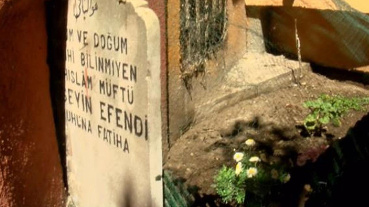 Denizde idam ettirilen Şeyhülislam'ın mezarı şoke etti!