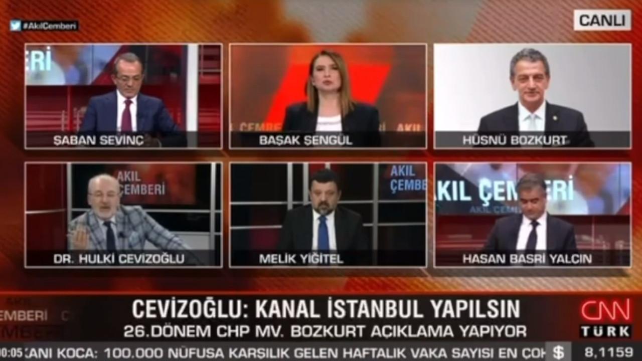 CNN Türk ekranlarında büyük tartışma! Cevizoğlu ile Bozkurt tartıştı