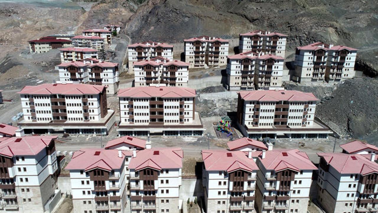 Yusufeli 7'inci kez taşınıyor! Yeni yerleşim yeri böyle görüntülendi