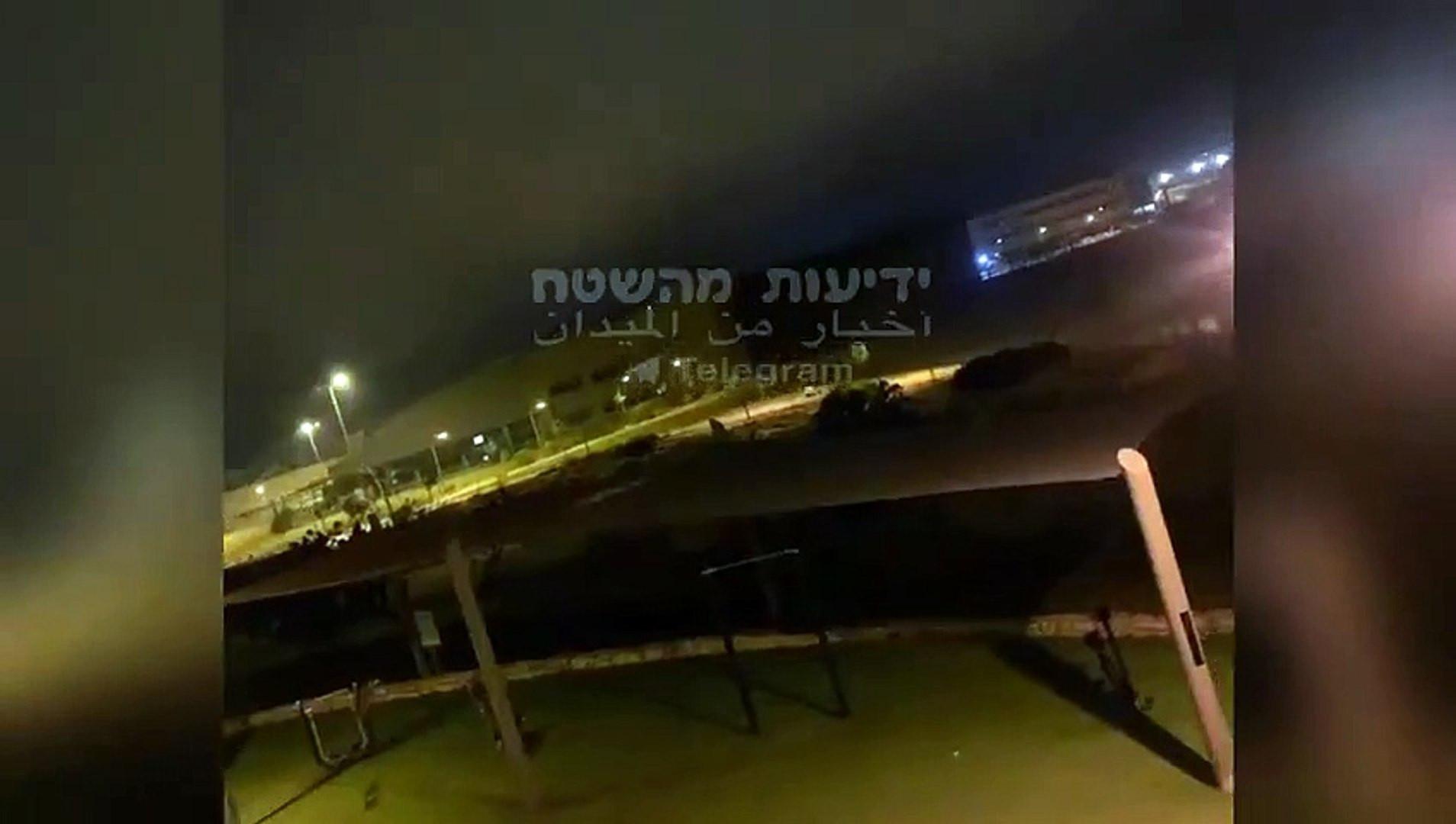 İsrail ile Suriye birbirini bombaladı!