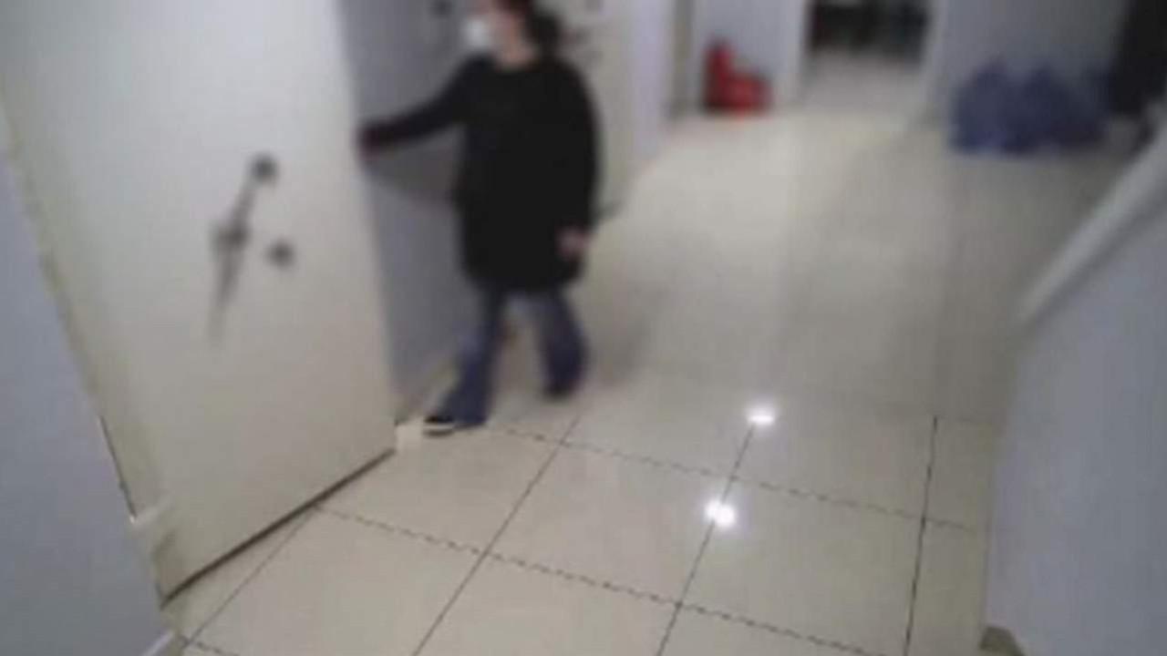Akılalmaz soygun planı güvenlik kamerasında