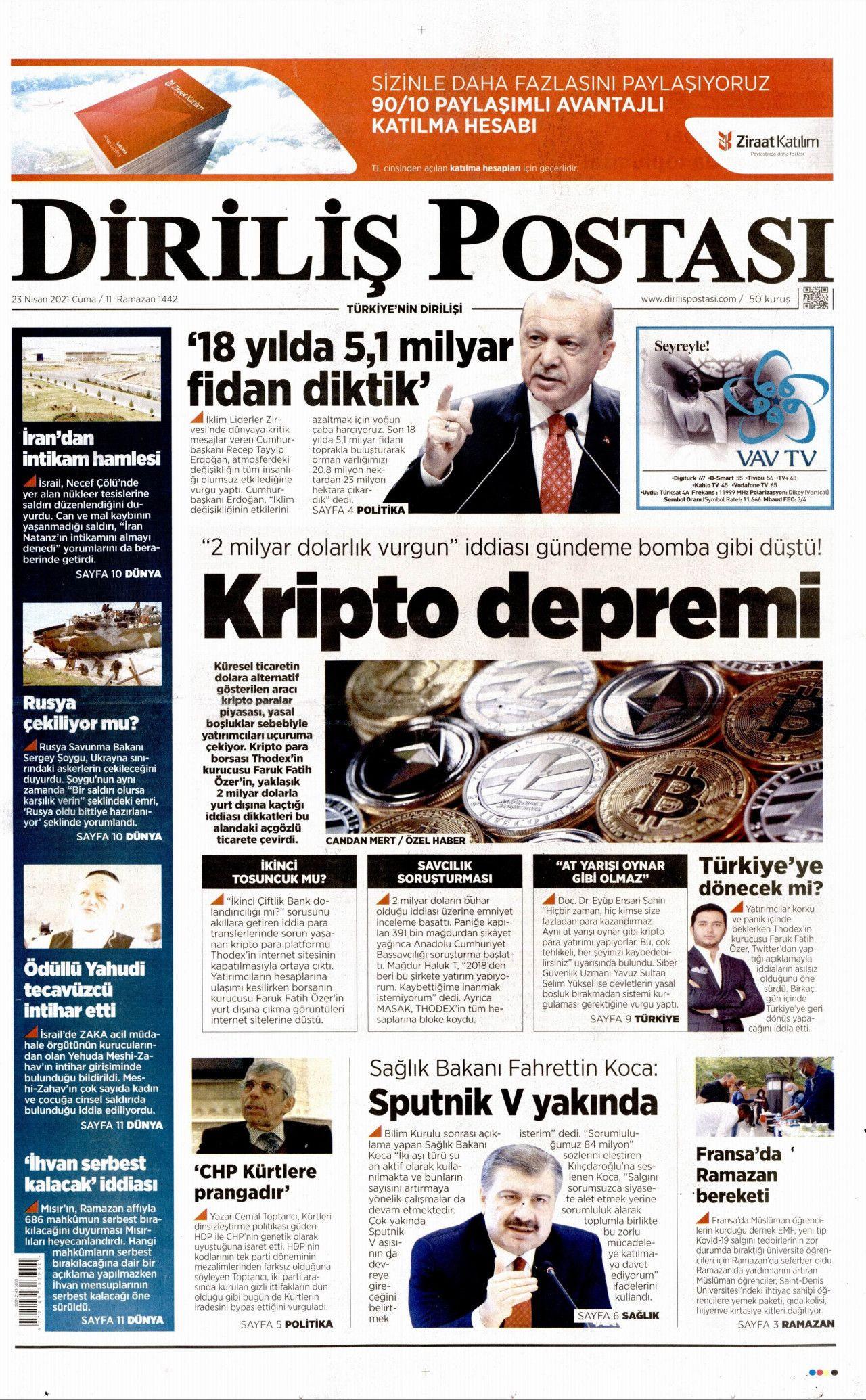 İşte 23 Nisan'da 23 Nisan'ı unutan gazeteler! - Resim: 2