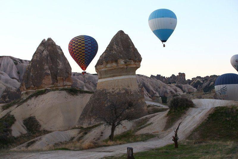 Kapadokya'da Türk bayraklarıyla 23 Nisan şöleni - Resim: 4