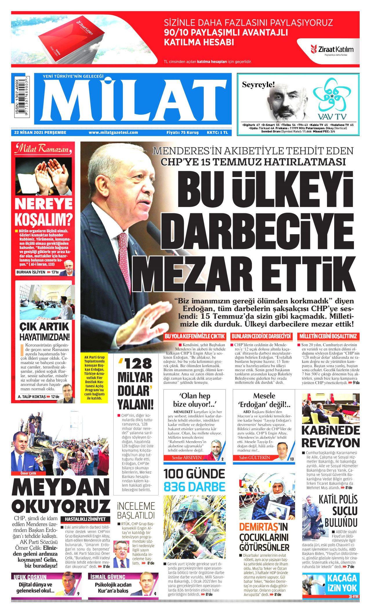 İşte 23 Nisan'da 23 Nisan'ı unutan gazeteler! - Resim: 3