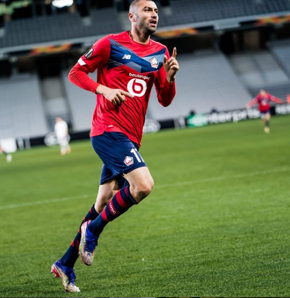 Lille'yi Burak kurtardı! 2-0'dan 2-3'e... - Resim: 4