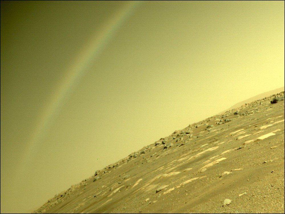 Mars'tan ilk renkli fotoğraflar geldi! Tarihi kareler! - Resim: 2