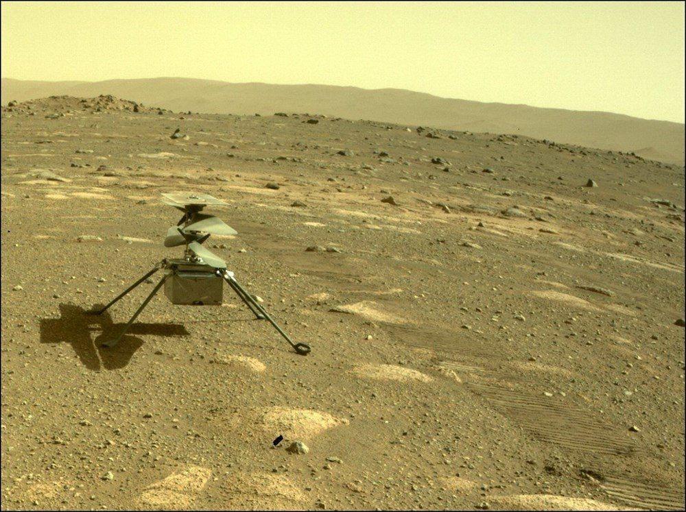 Mars'tan ilk renkli fotoğraflar geldi! Tarihi kareler! - Resim: 3