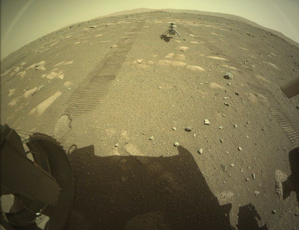 Mars'tan ilk renkli fotoğraflar geldi! Tarihi kareler! - Resim: 4