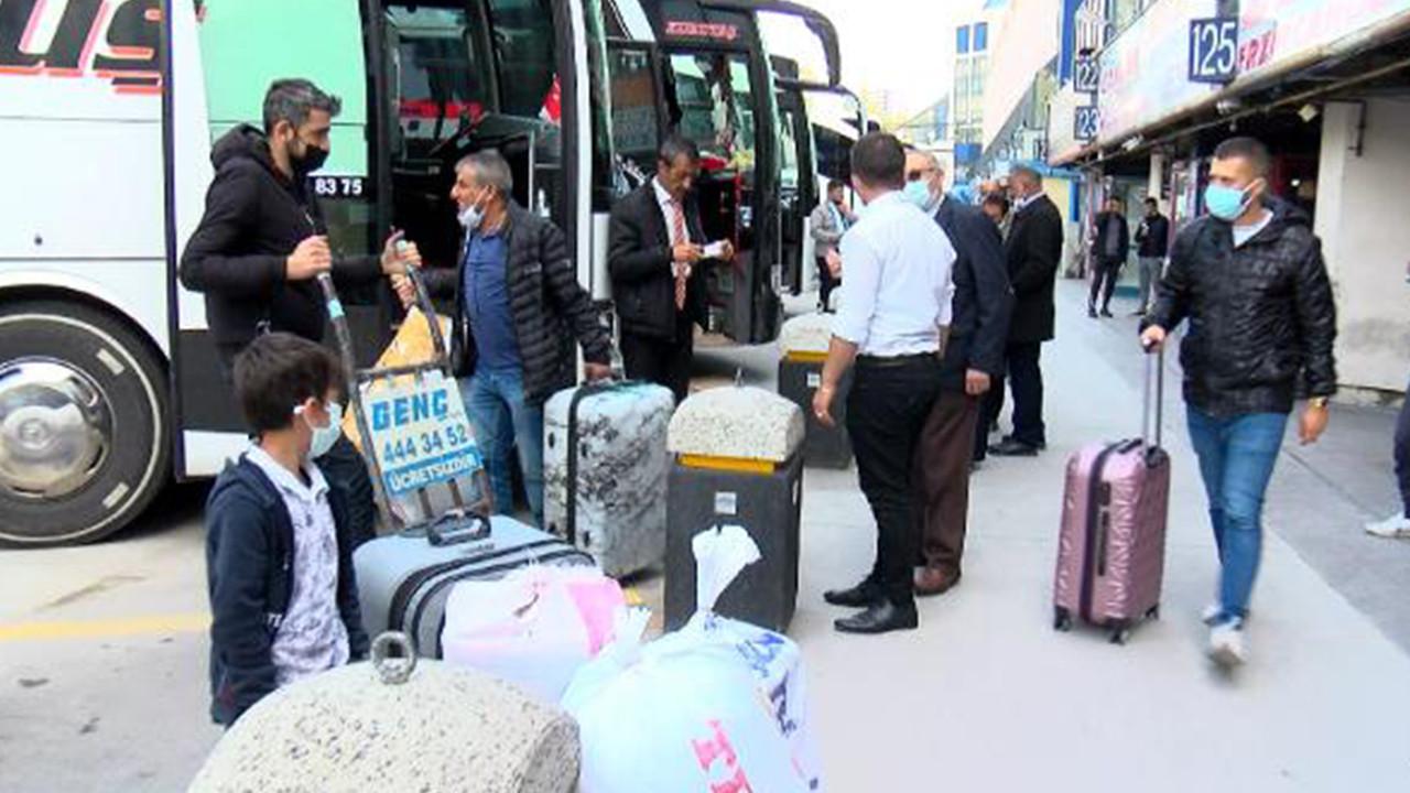 İstanbul'dan kaçış başladı! Yasak öncesi bilet bulunamıyor!