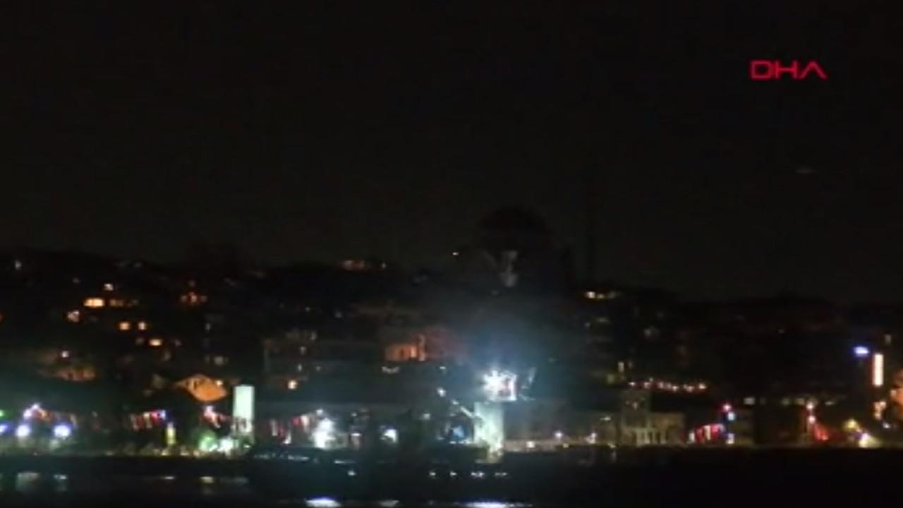 İstanbul Boğazı'nda korku dolu gece!
