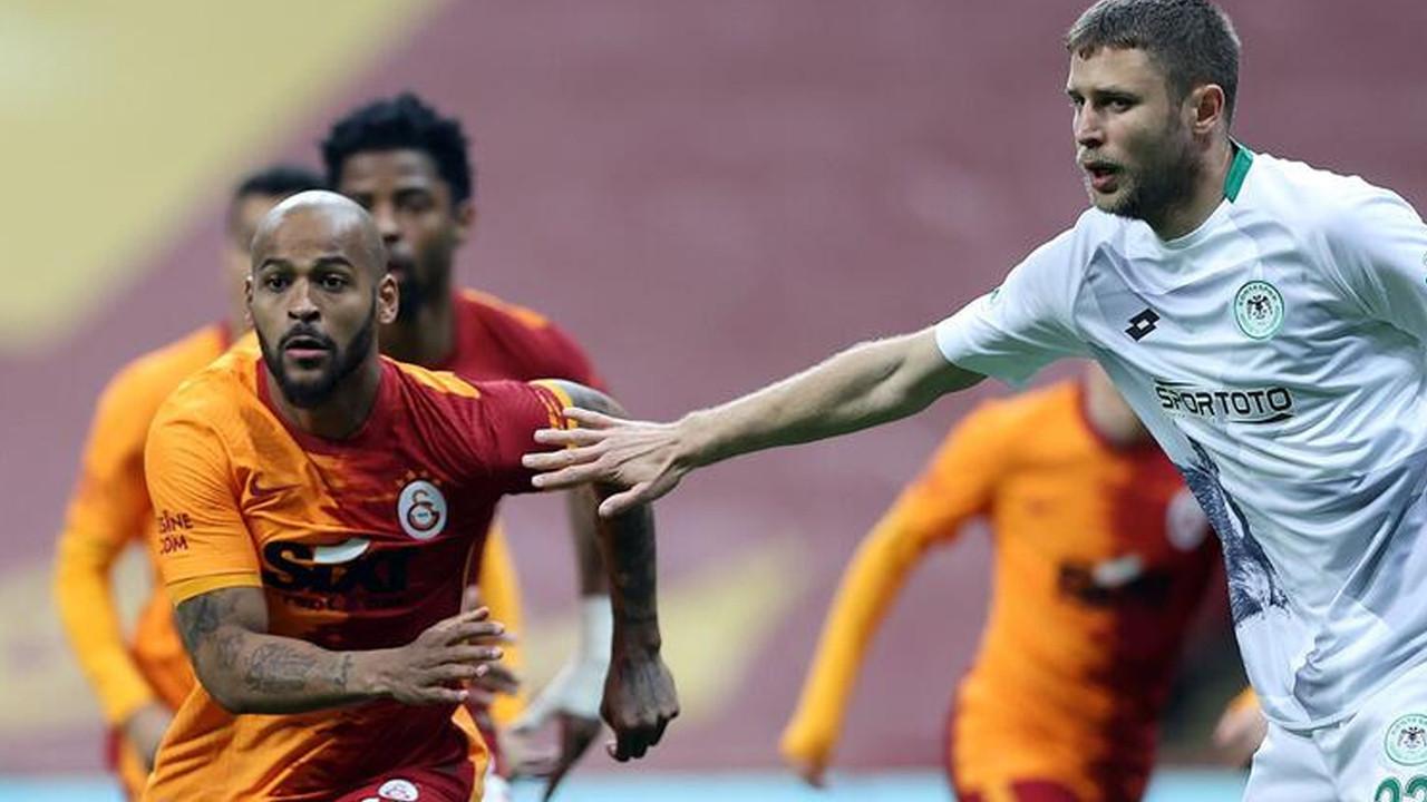 Galatasaray, Konyaspor'u tek golle yendi