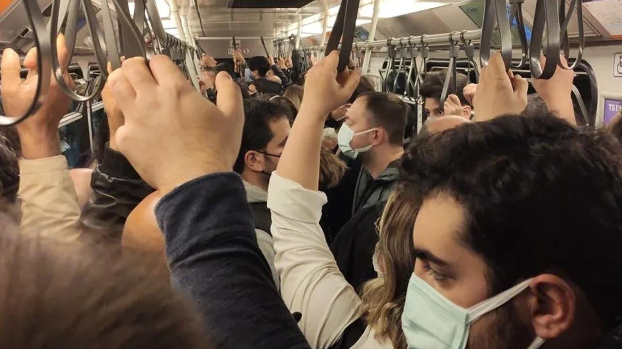 İstanbul metrosunda arıza sonrası yoğunluk yaşandı