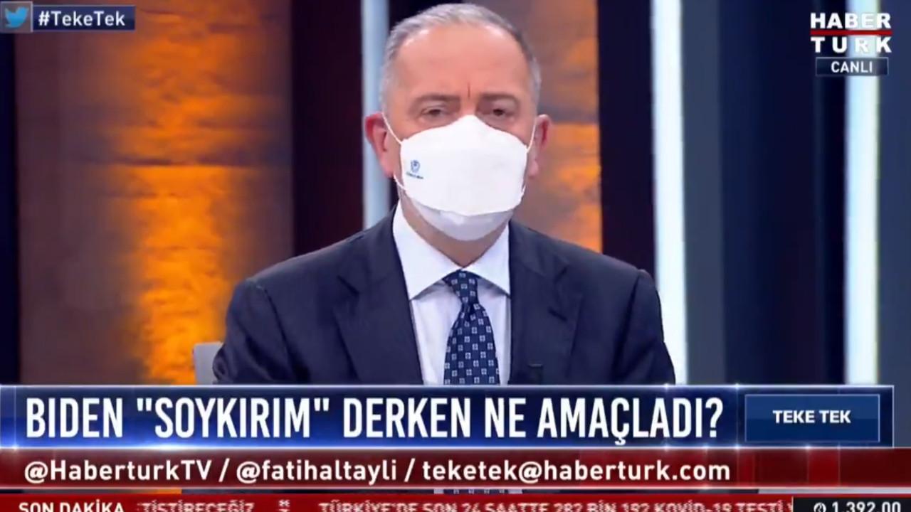 Fatih Altaylı canlı yayında alkol yasağını böyle ''ti''ye aldı
