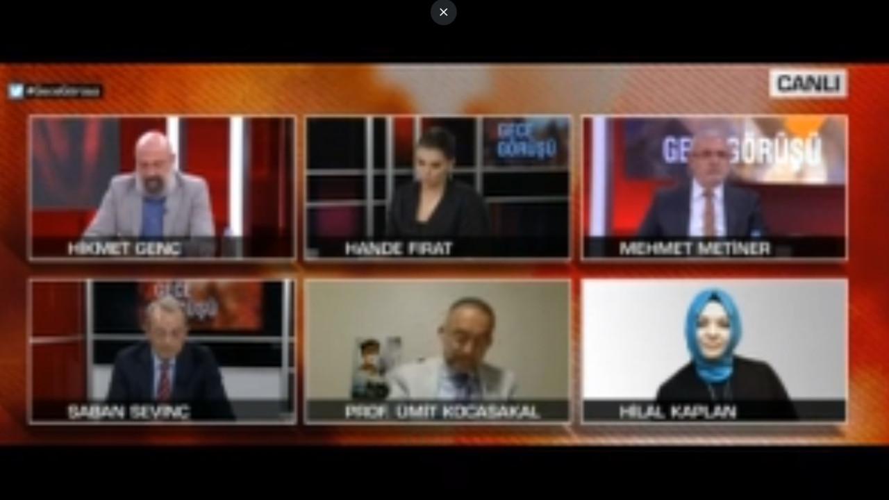 CNN TÜRK'teki canlı yayında ortalık fena karıştı