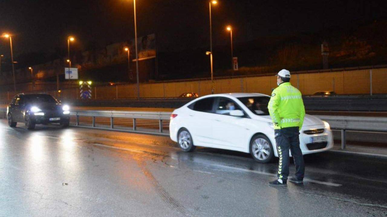 Trafikte tam kapanma cezası yağdı!