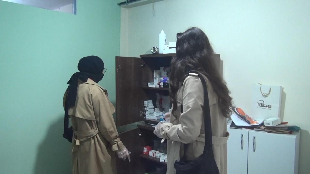 İstanbul'da Suriyelilerin merdiven altı kürtaj merkezine suçüstü!