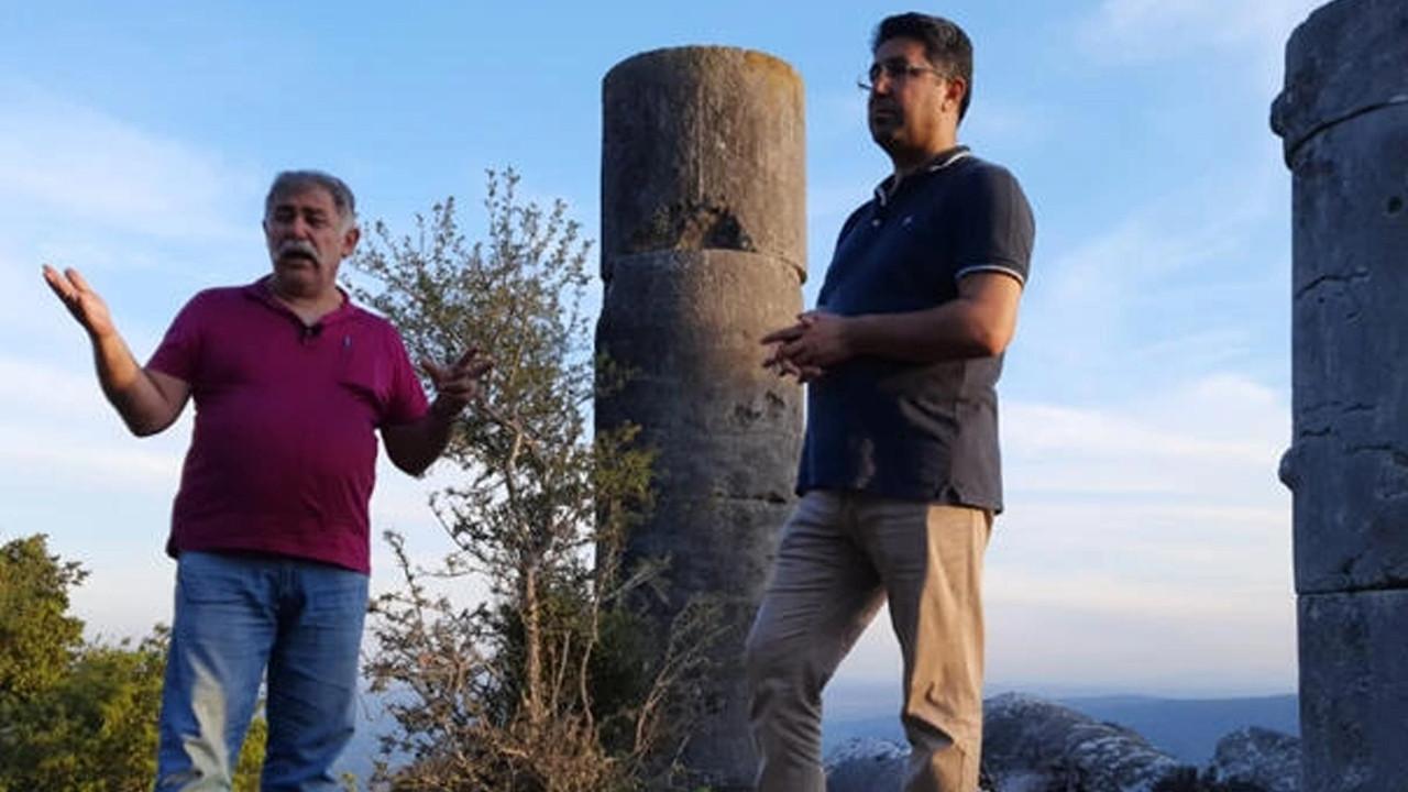 Adana'da tarihi kalıntılara zarar verildiği iddia edildi