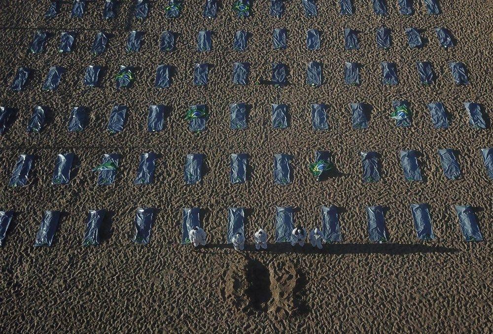 Dünyaca ünlü plajda ceset torbaları