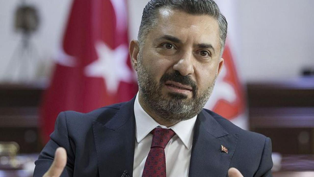 RTÜK Başkanı'ndan TV kanallarına ''labaleb'' talimatı