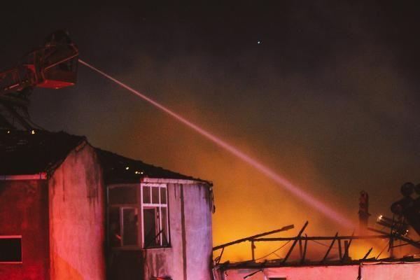 Samsun'da korkutan yangın - Resim: 3