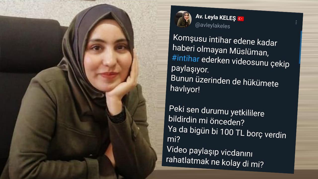 AK Partili ismin ''intihar'' paylaşımı olay oldu