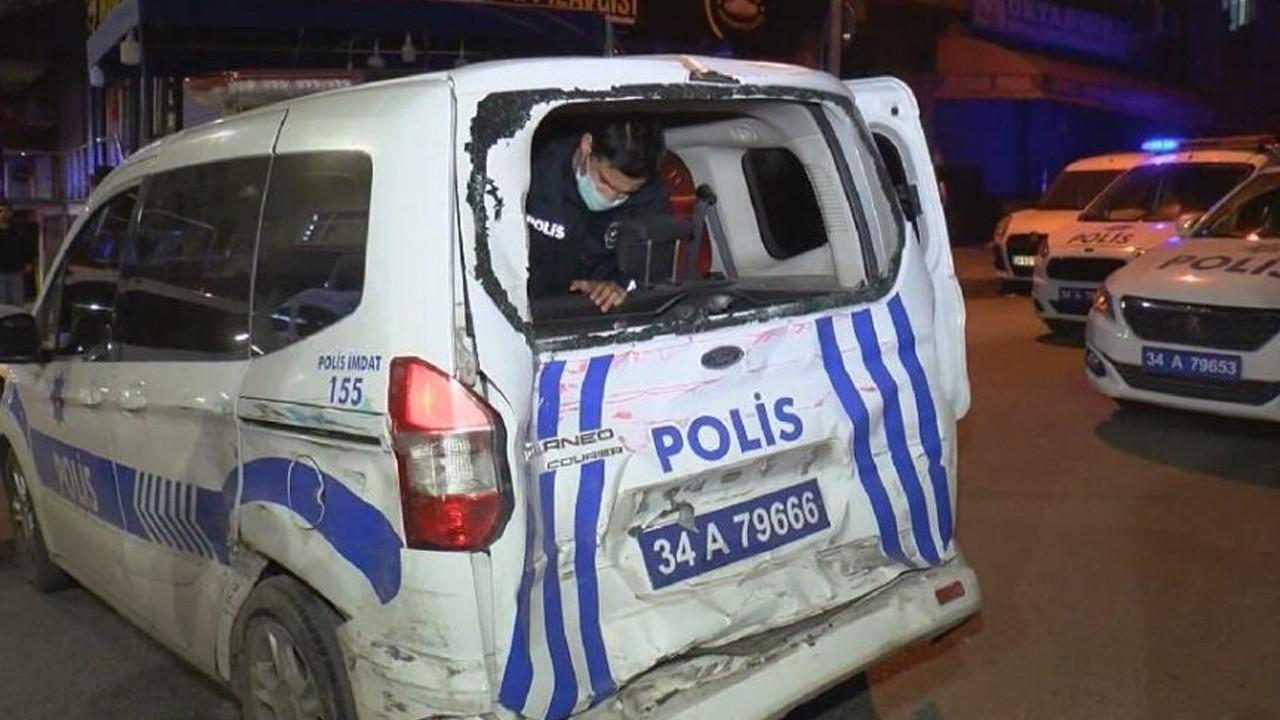 İstanbul'da feci kaza! Polisler seferber oldu