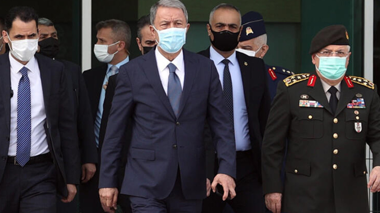 Akar, Çavuşoğlu ve Hakan Fidan'dan sürpriz ziyaret