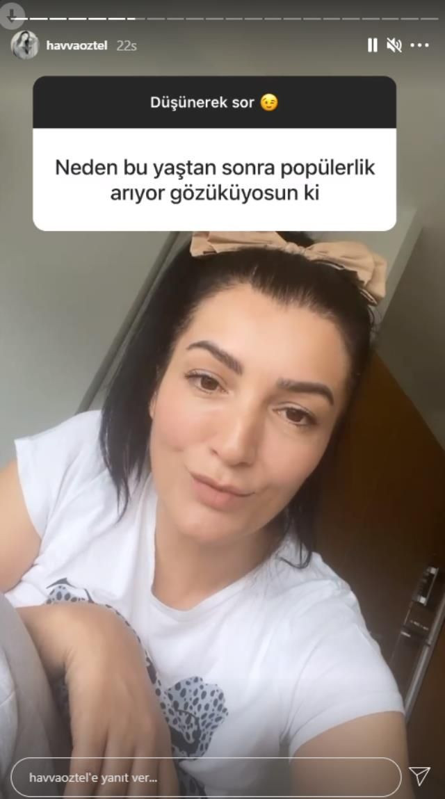 Aleyna Tilki'nin annesi Havva Öztel yine yaptı yapacağını! - Resim: 2