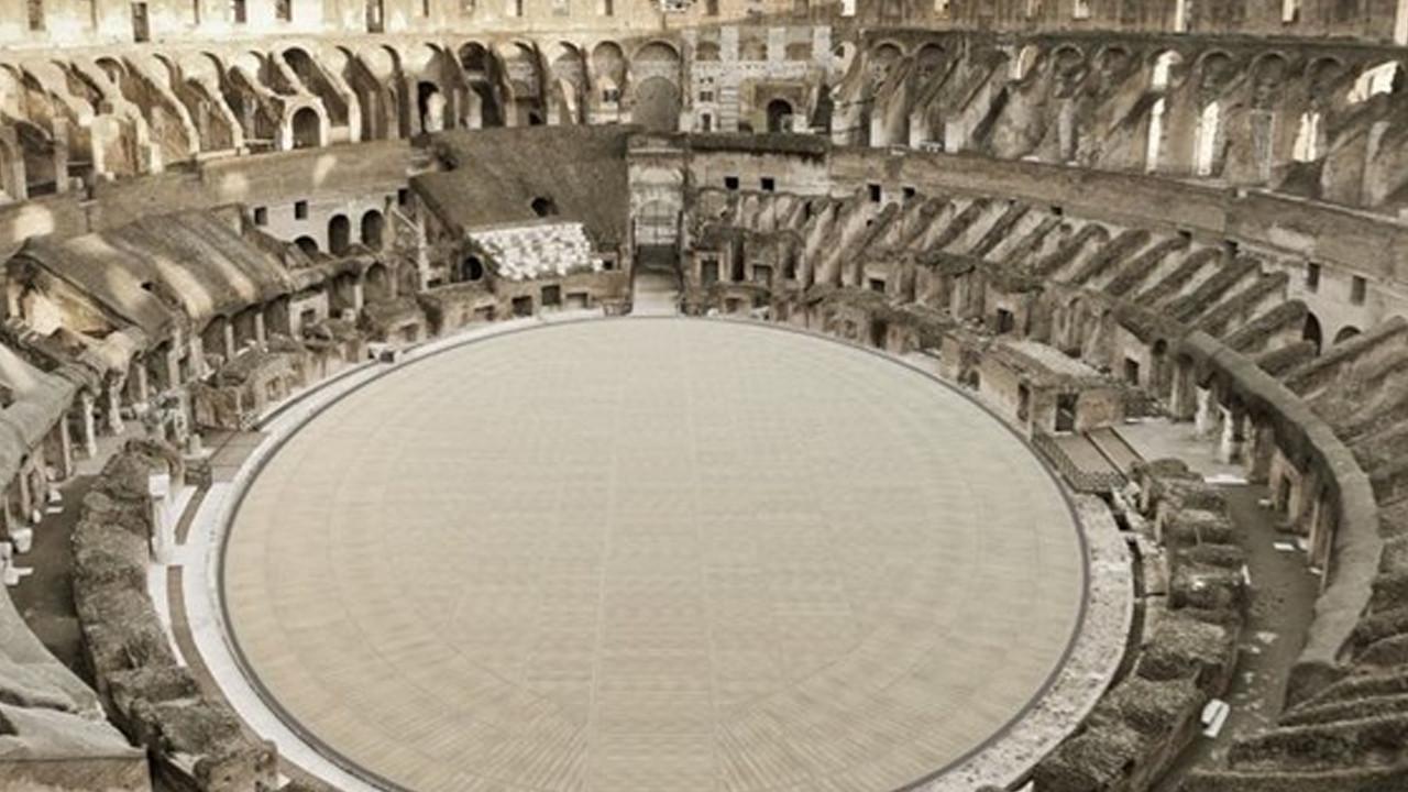 Artık gladyatörlerin gözünden görülebilecek: Kolezyum'a ahşap zemin ekleniyor!