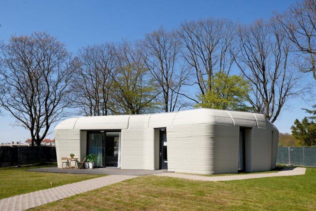 3 boyutlu yazıcıyla yapılan ilk ev! - Resim: 4