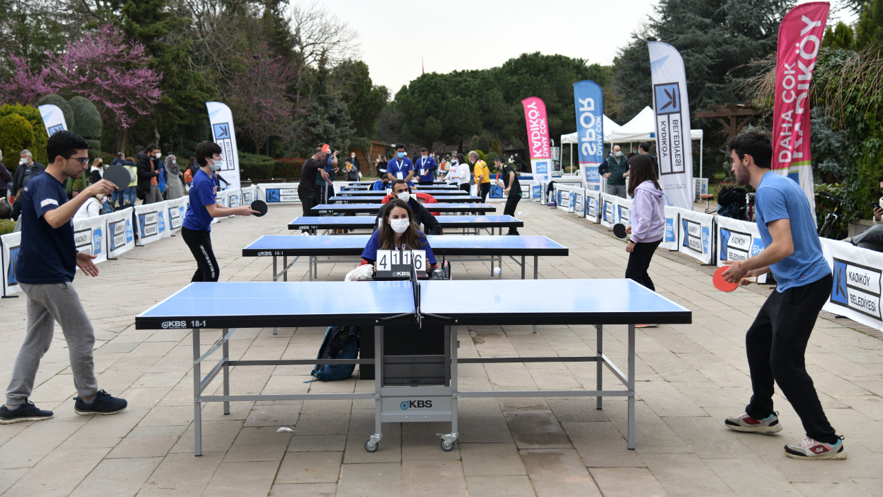 Kadıköy'de 19 Mayıs coşkusu masa tenisi turnuvasıyla başlıyor