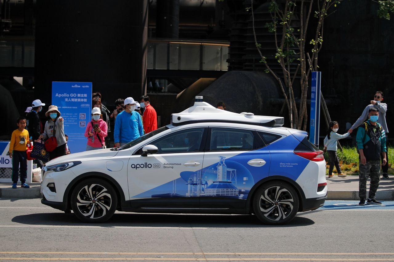 Çinli teknoloji devinden sürücüsüz taksi atılımı - Resim: 1