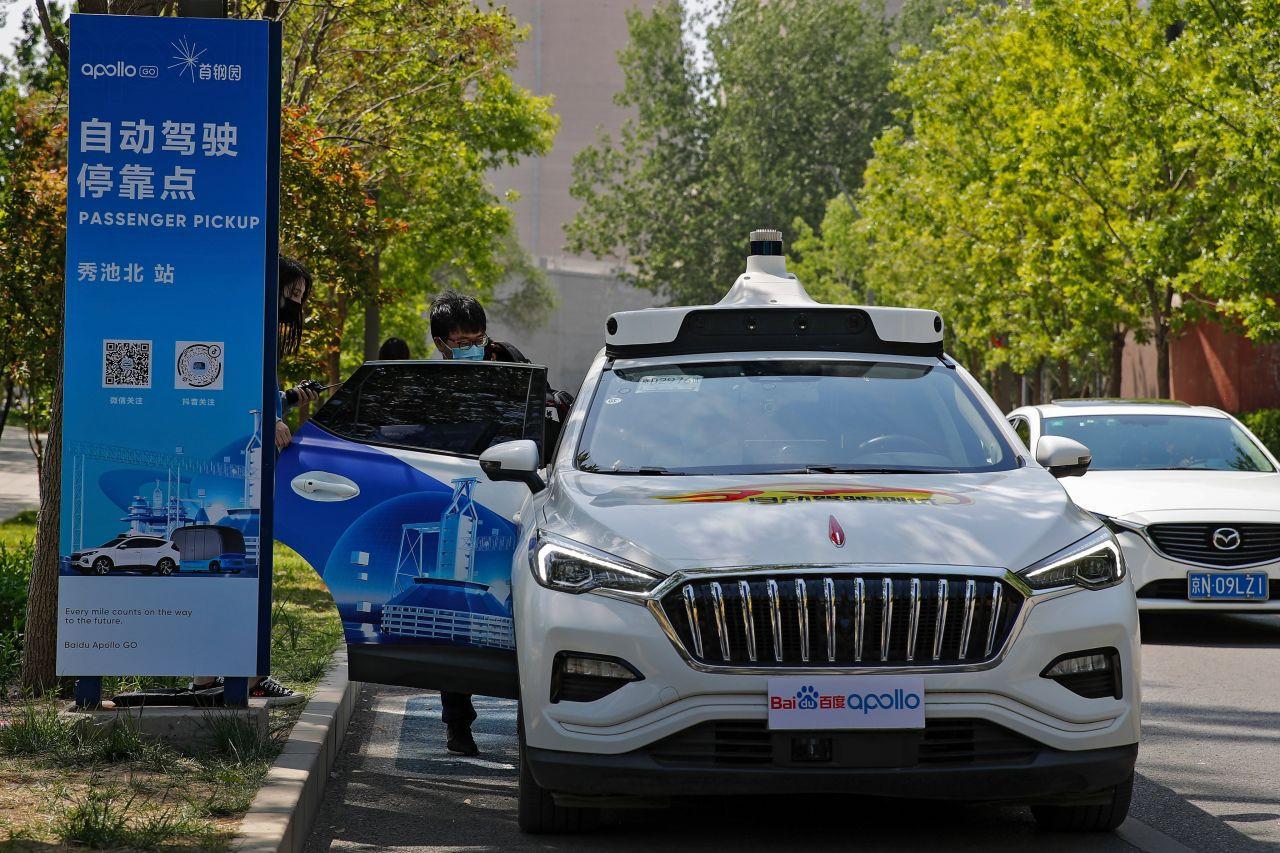 Çinli teknoloji devinden sürücüsüz taksi atılımı - Resim: 2