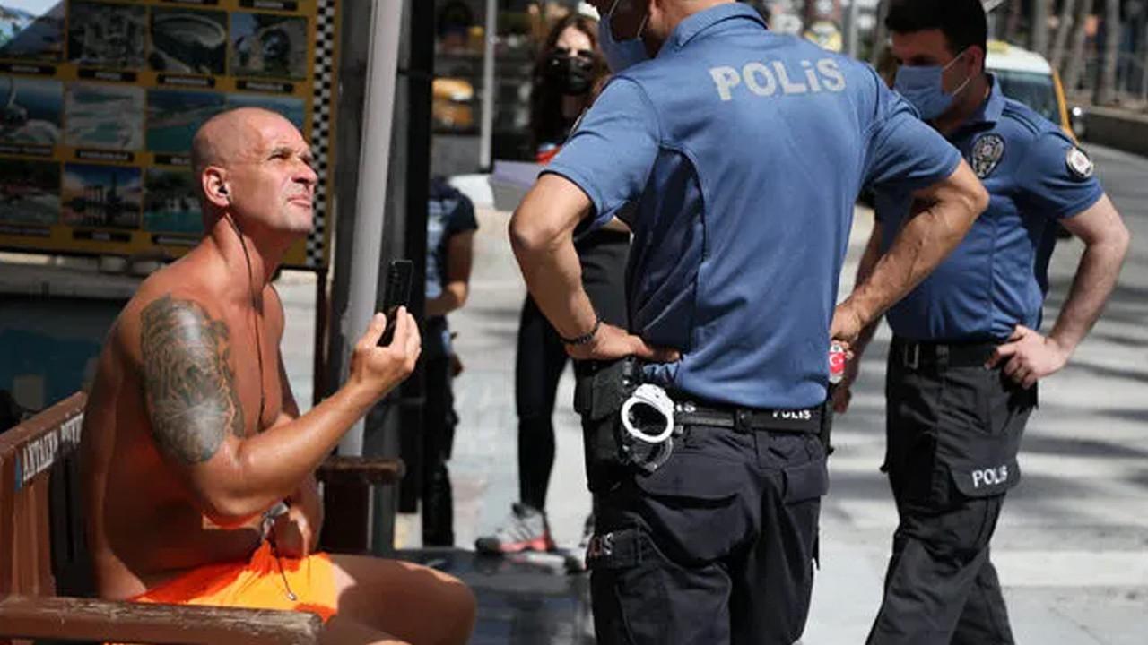 Kadın polise ahlaksız teklifte bulunan turistin ifadesi ortaya çıktı