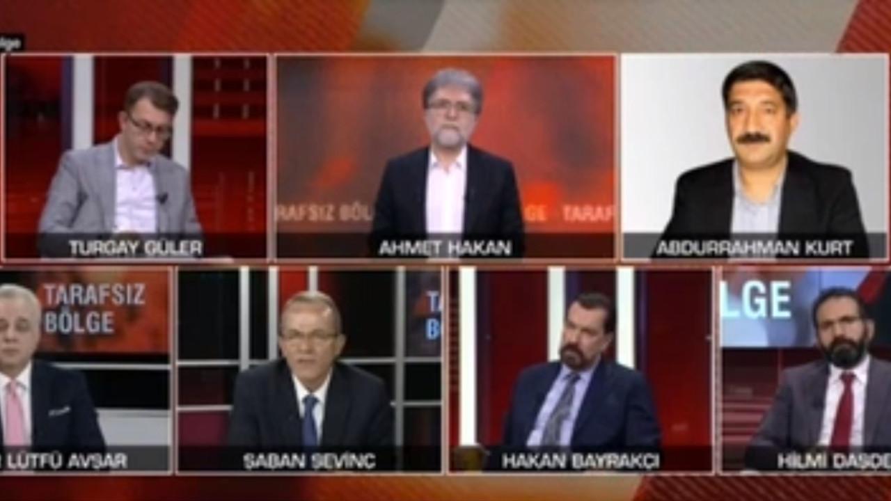 CNN Türk'te gergin anlar! Stüdyo bir anda karıştı