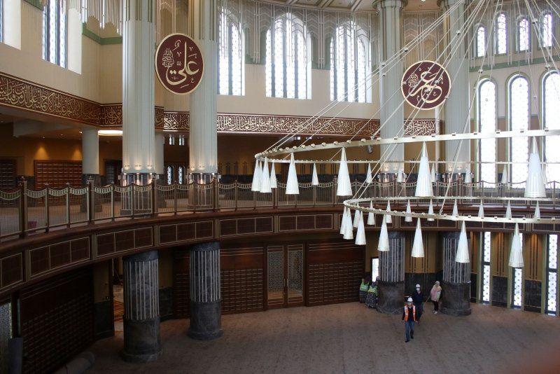 Cuma günü açılıyor... İşte Taksim camisinin son hali - Resim: 2