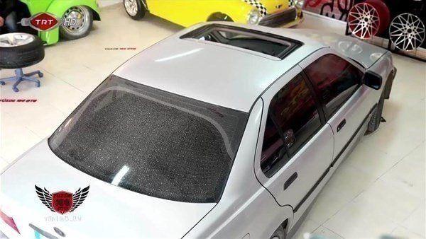 Eski kasa BMW'sini restorasyona bıraktı... İşte sonuç... - Resim: 3