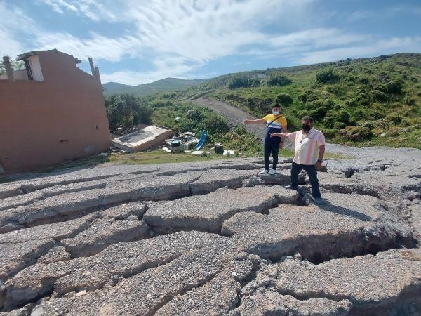 İzmir'de korkutan göçükler! 5 ev daha boşaltıldı - Resim: 2