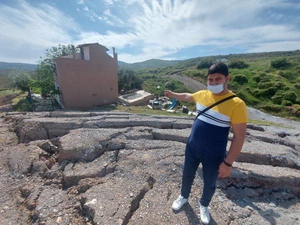 İzmir'de korkutan göçükler! 5 ev daha boşaltıldı - Resim: 1