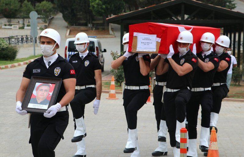Koruma polisinin kahreden ölümü! Cenazede gözyaşları sel oldu - Resim: 2