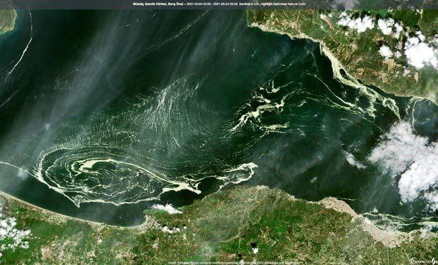 Marmara'da alarm! Uydu görüntüsü ortaya çıktı - Resim: 1