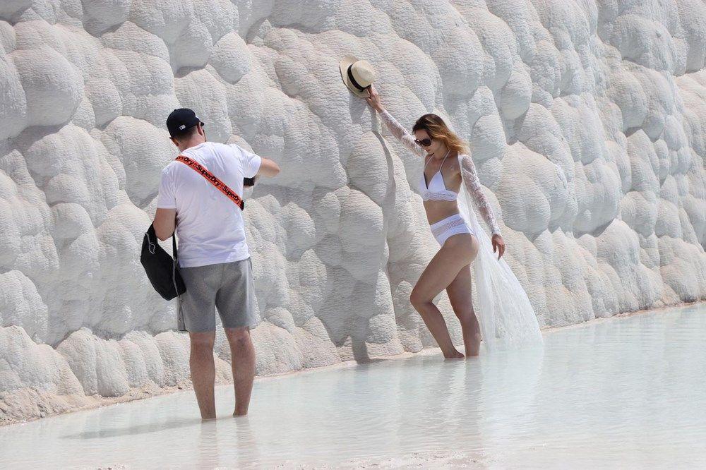 Tam kapanmada Pamukkale turistlere kaldı - Resim: 3