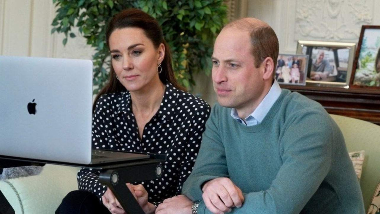 Prens William ve Kate Middleton YouTuber oldu