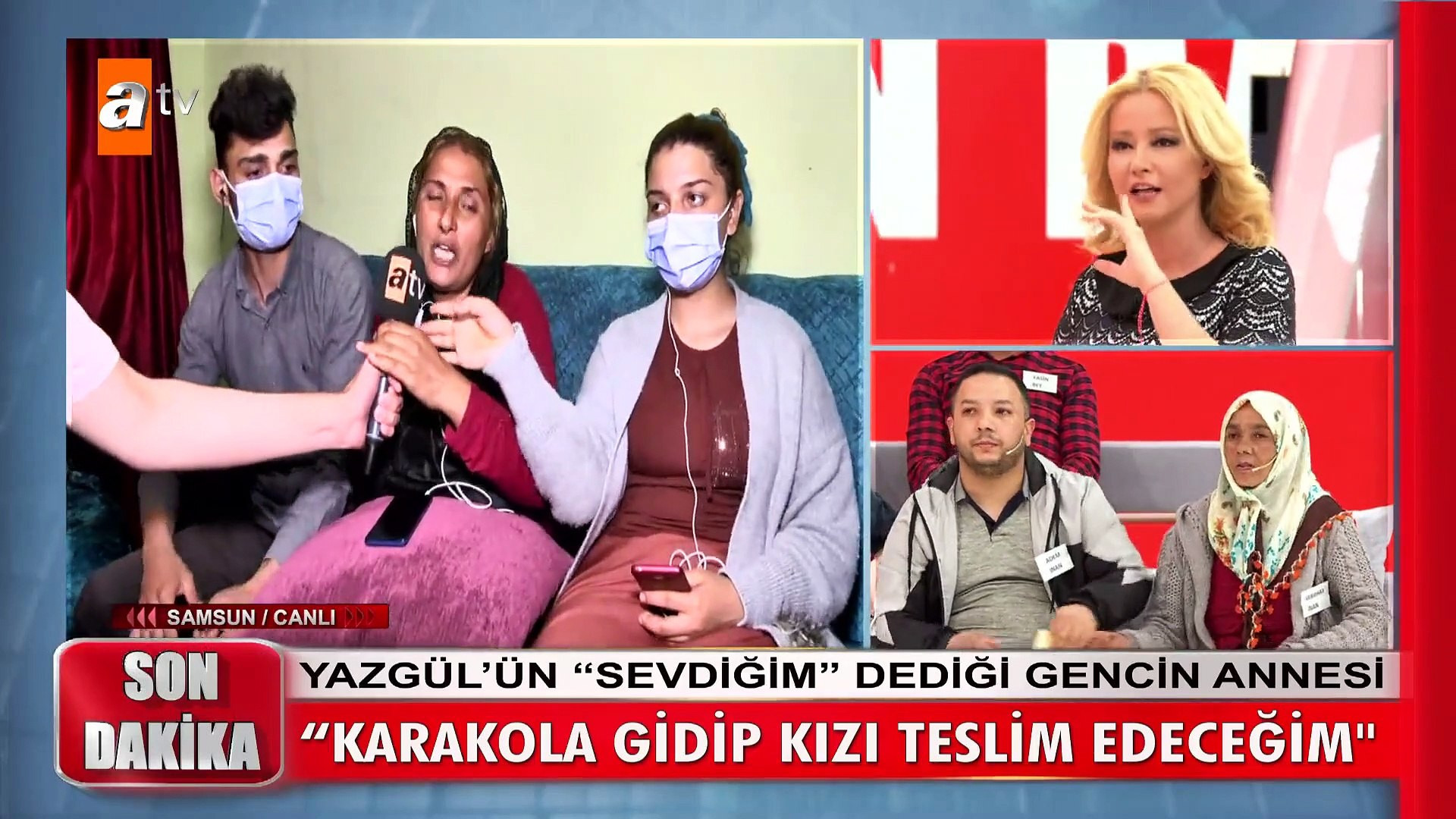 Müge Anlı'da canlı yayında polis baskını