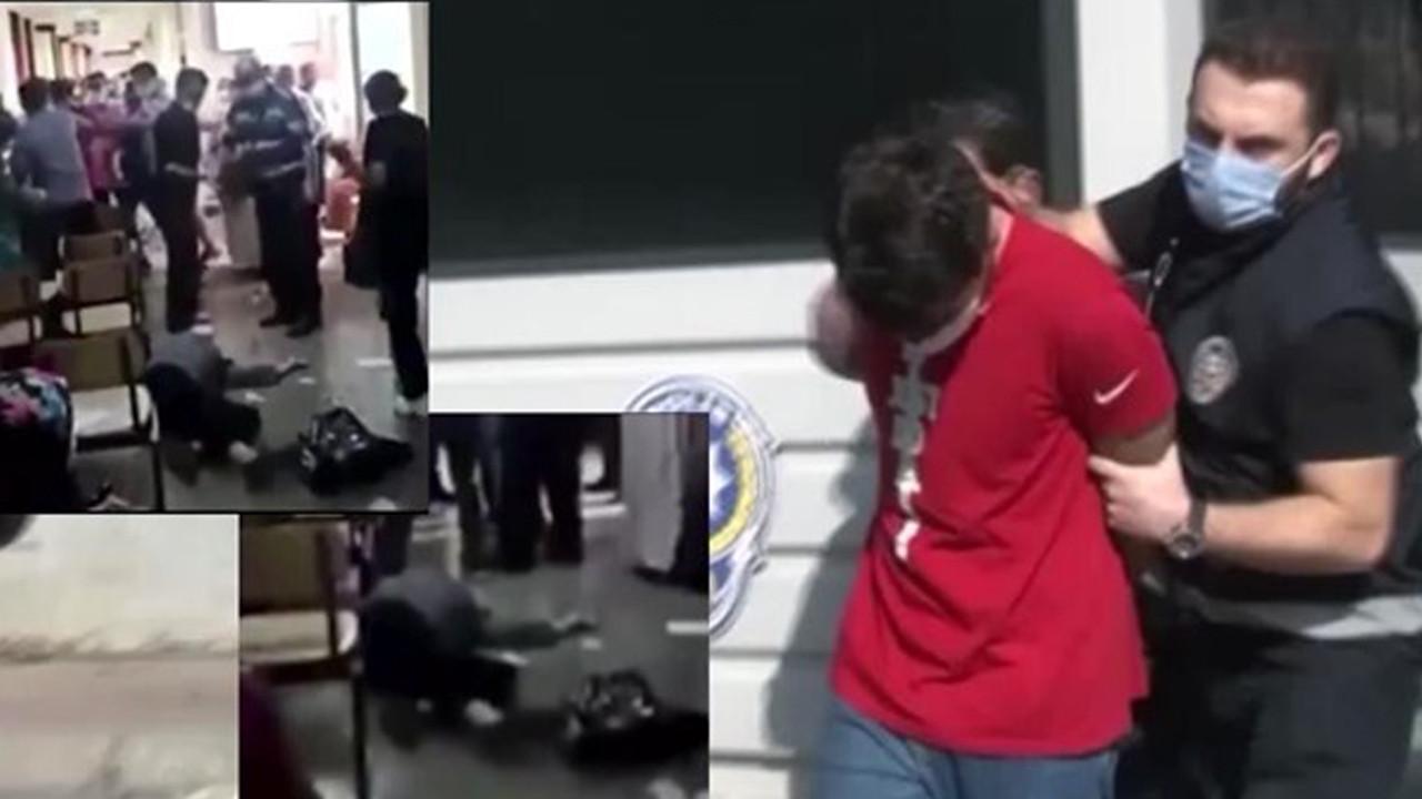Maske uyarısı yapan sağlık çalışanına saldırmıştı! Tahliye edildi
