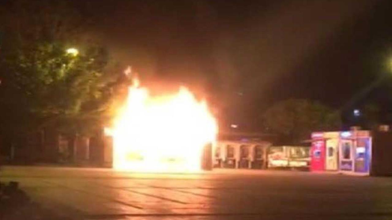 İstanbul'daki halk ekmek yangını kundaklama çıktı