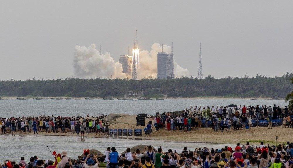 Hızla Dünya'ya yaklaşıyor... 22 tonluk roket ilk kez görüntülendi! - Resim: 4