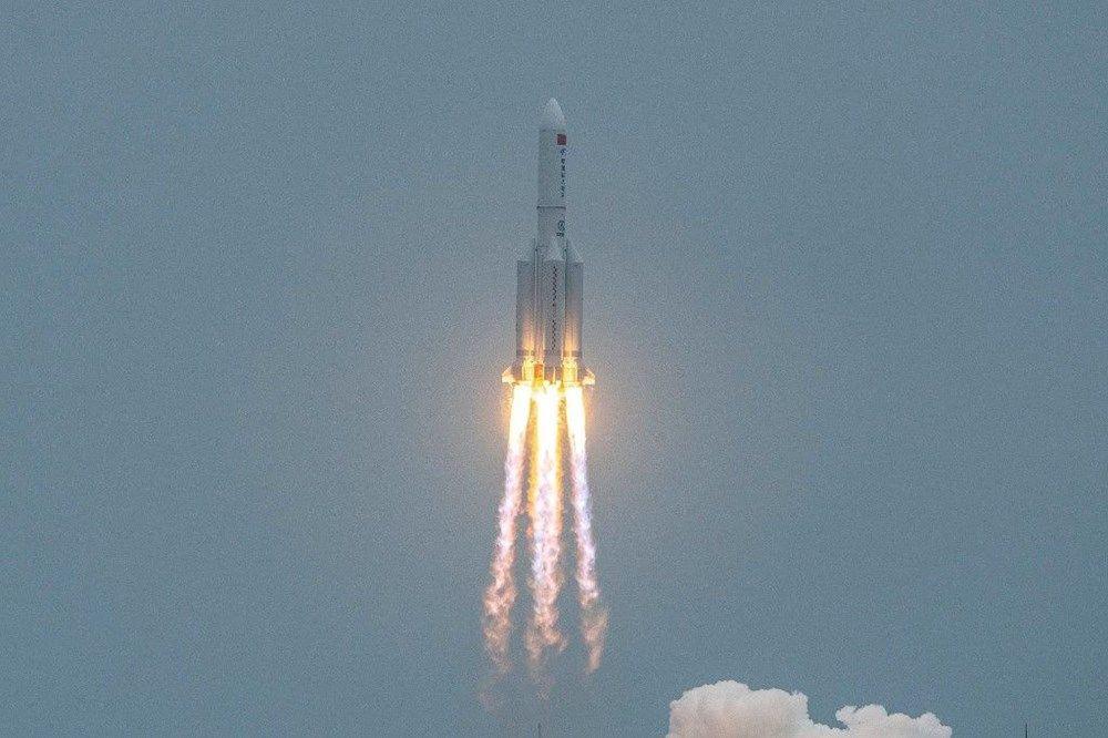 Hızla Dünya'ya yaklaşıyor... 22 tonluk roket ilk kez görüntülendi! - Resim: 3