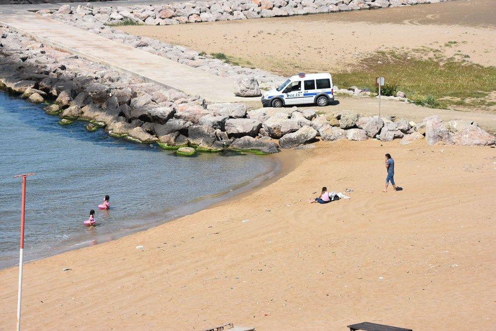 Denize giren Alman vatandaşı aileye polis engeli - Resim: 3